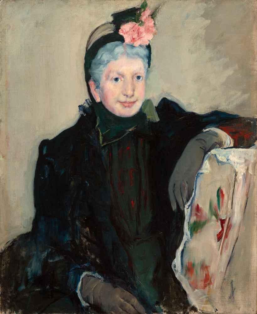 Portrait of an Elderly Lady - Mary Cassatt