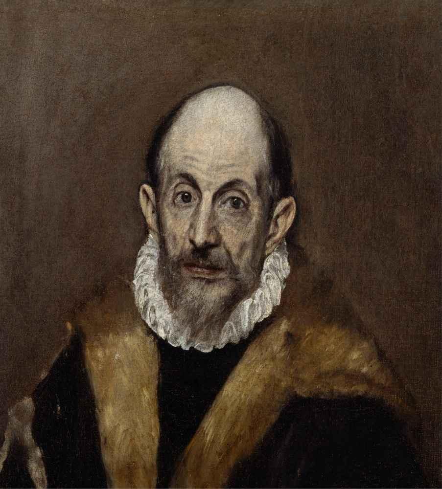 Portrait of an Old Man - El Greco