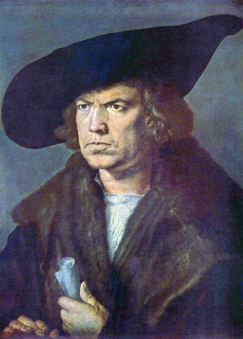 Portrait of an unknown - Durer