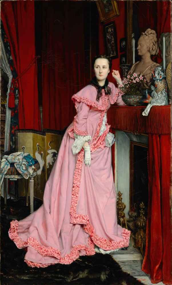 Portrait of the Marquise de Miramon, née Thérèse Feuillant - James Tis