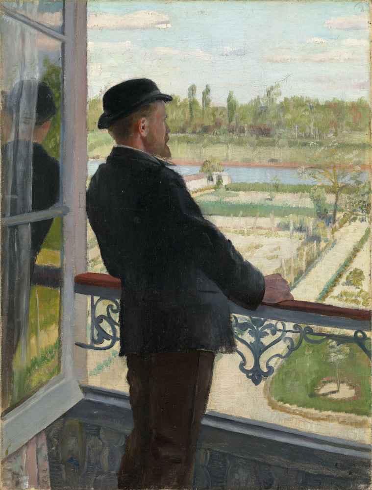 Portrait of the Swedish Painter Karl Nordström - Christian Krohg