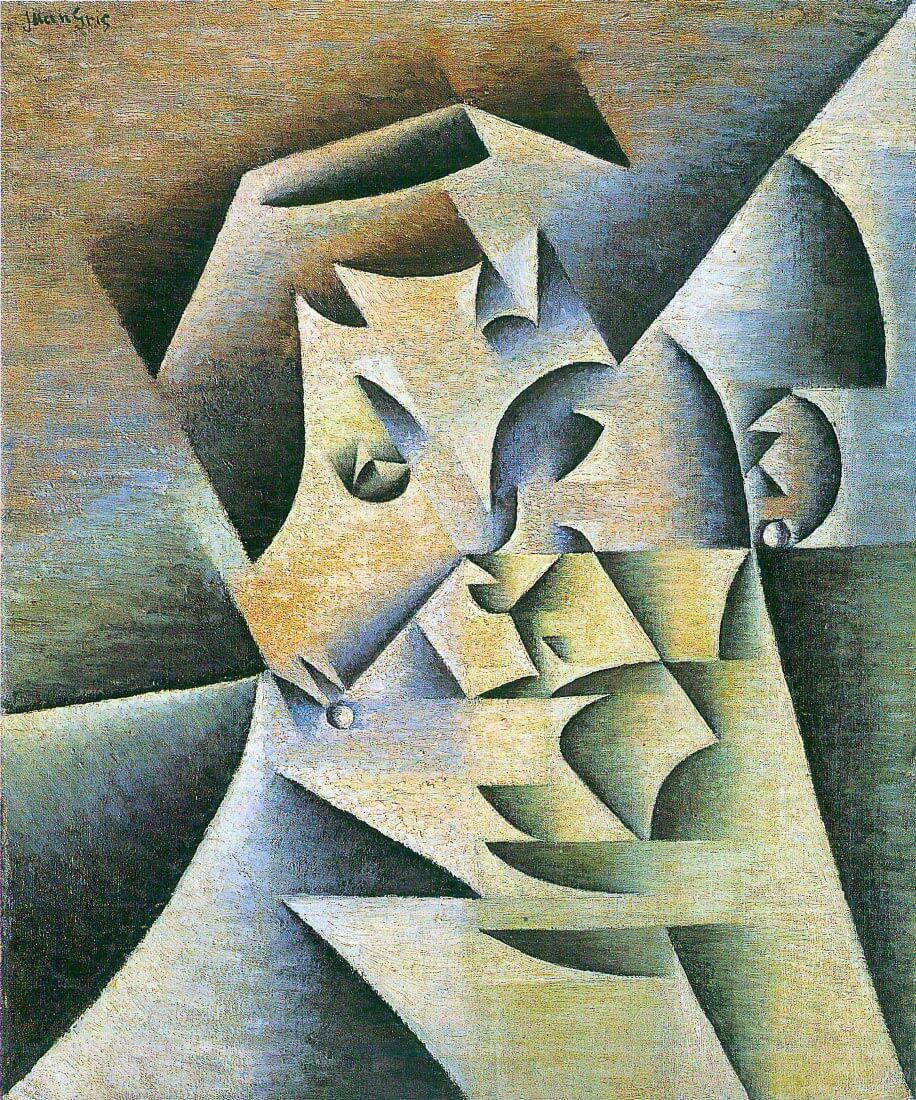 Portrait of the mother of the artist - Juan Gris