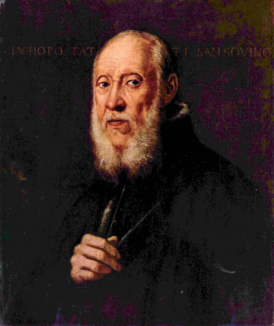 Portrait of the sculptor Jacopo Sansovino - Tintoretto