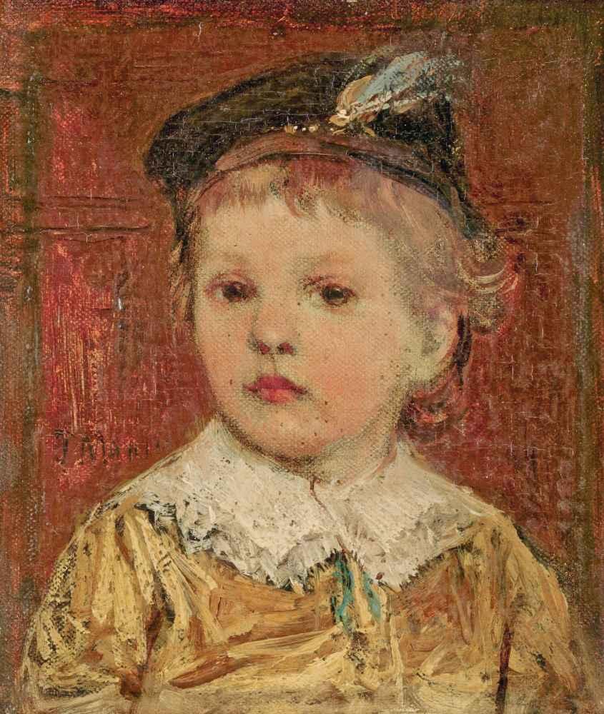 Portret van Willem Matthijs Maris Jbzn, Jacob Maris sons - Matthijs Ma