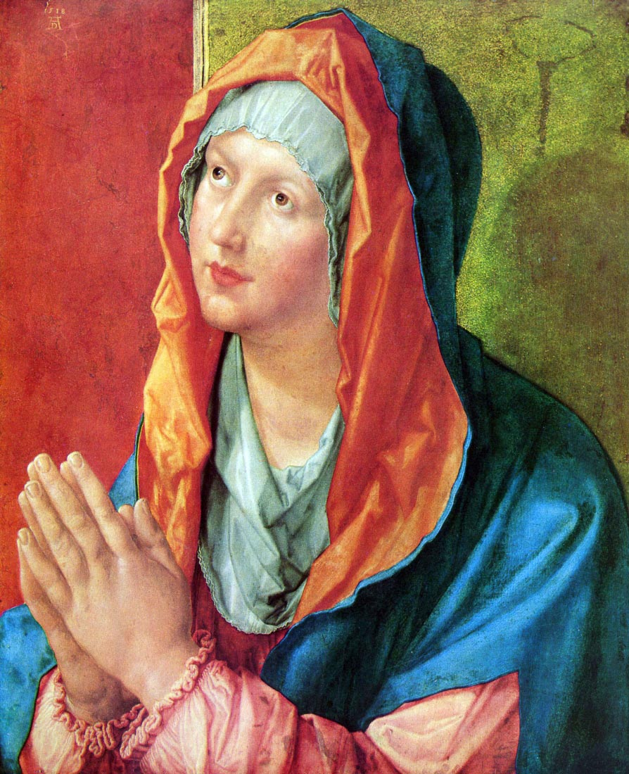 Praying Mary - Durer