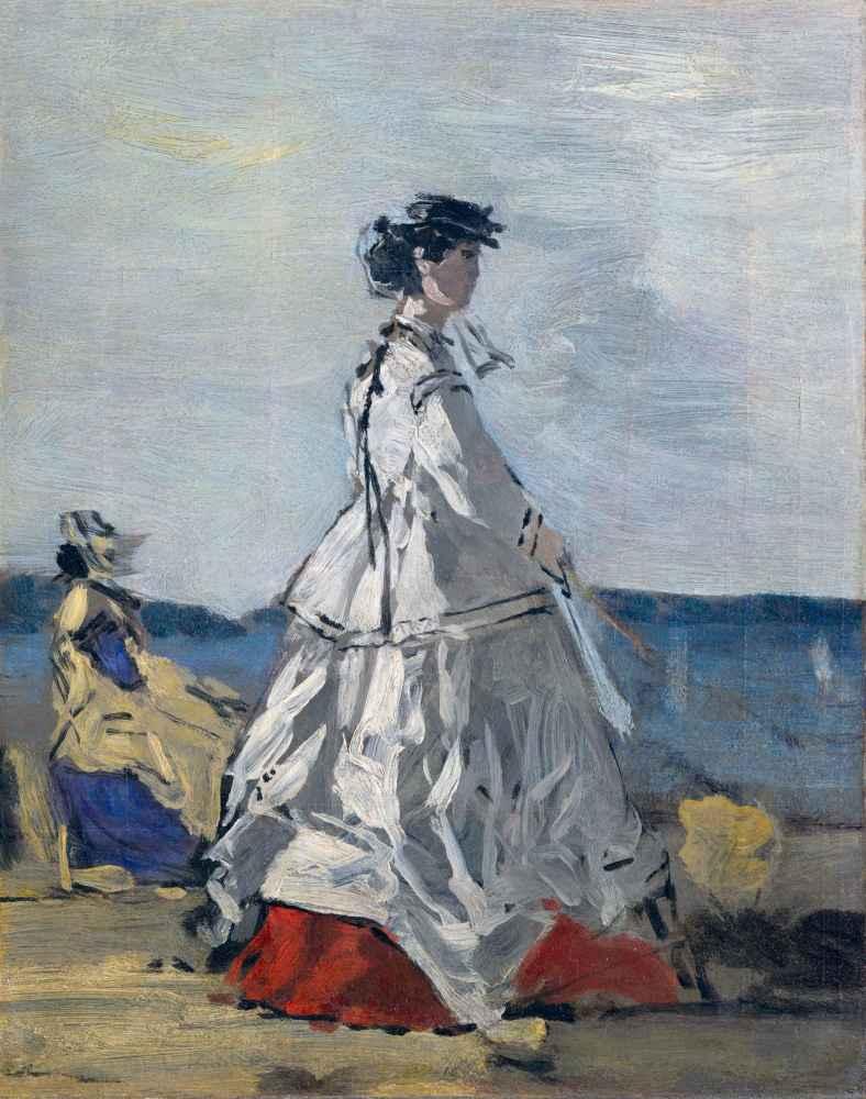 Princess Pauline Metternich (1836–1921) on the Beach - Eugene Boudin