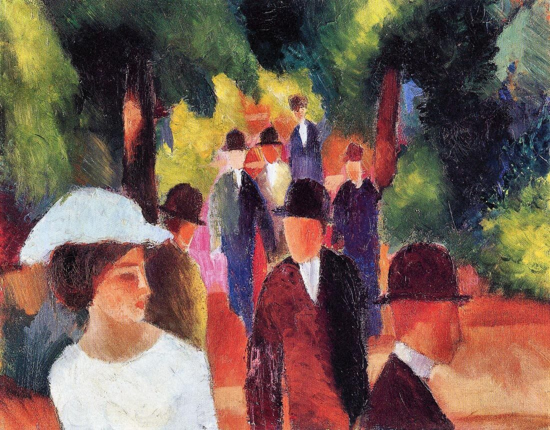 Promenade II - August Macke