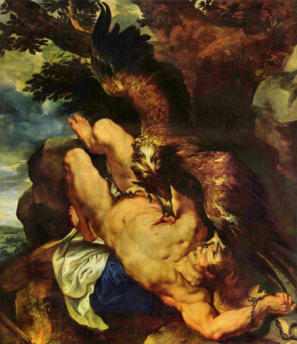 Prometheus bound - Rubens