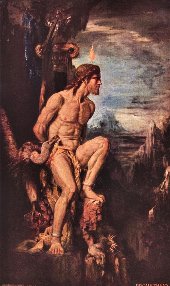 Prometheus - Gustave Moreau
