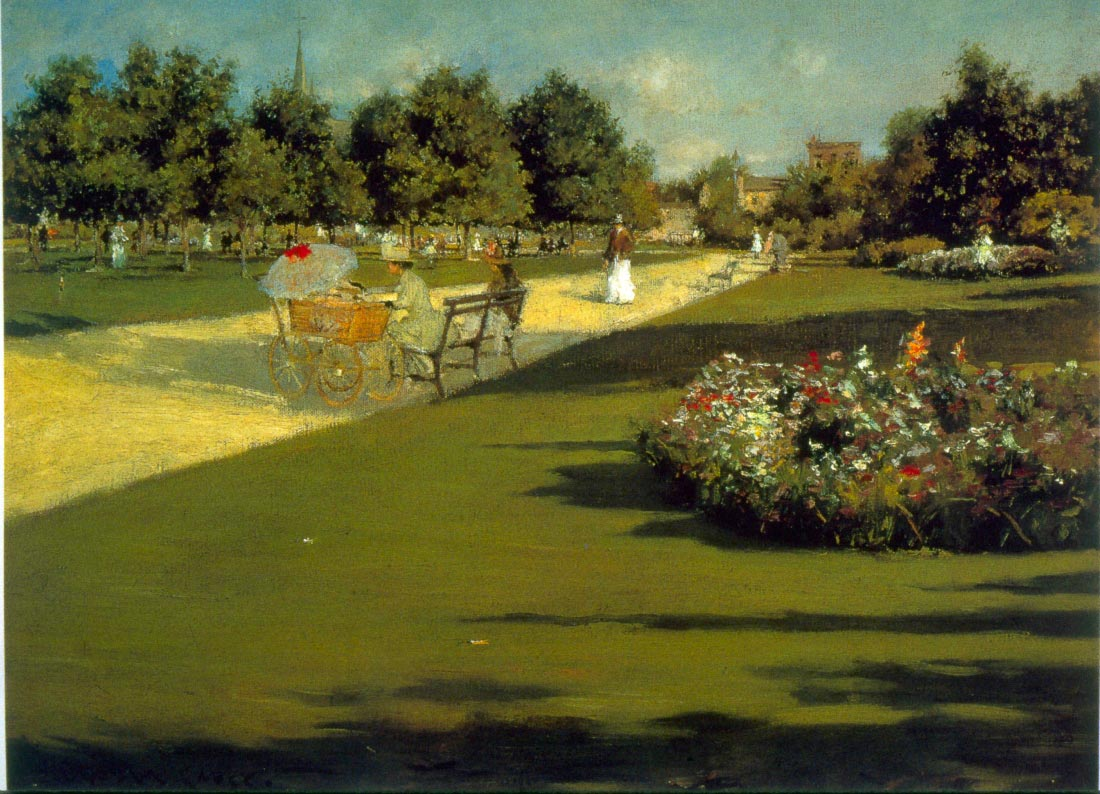 Prospect Park - William Merritt Chase