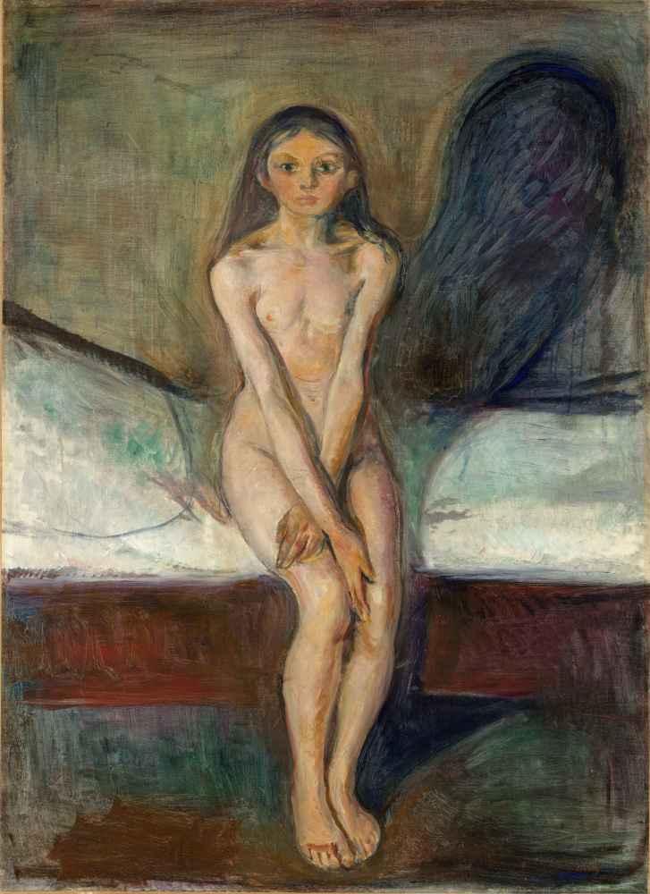 Puberty - Edward Munch