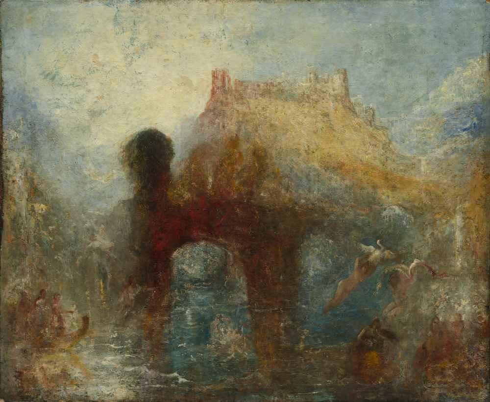 Queen Mabs Cave - Joseph Mallord William Turner