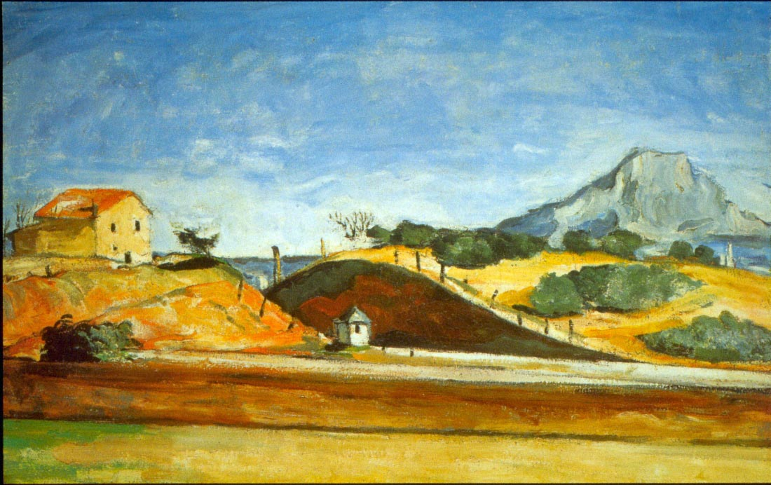Railway Cutting - Cezanne