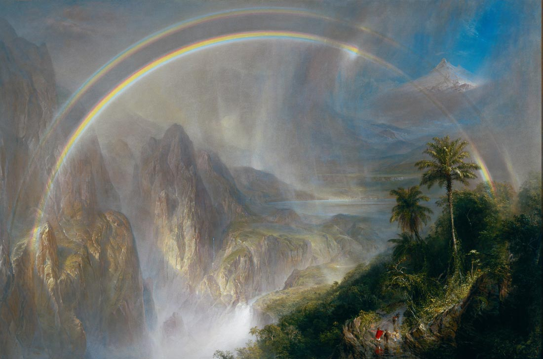 Rainy season in the tropics - Frederick Edwin Church
