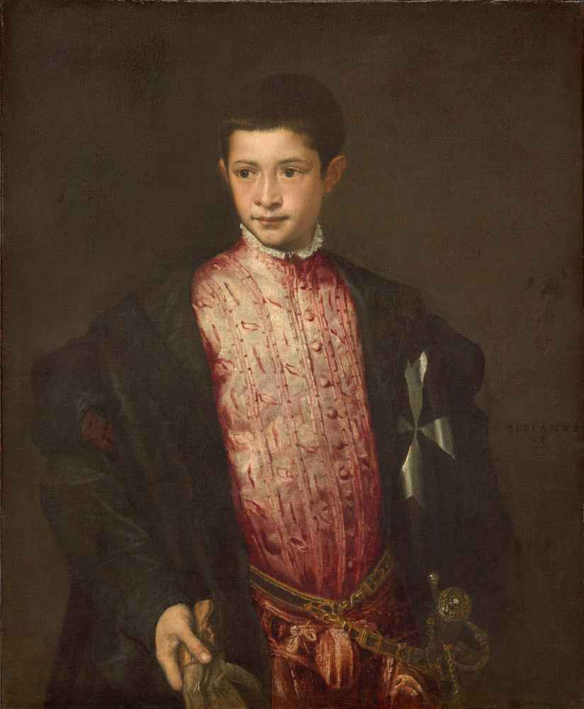 Ranuccio Farnese - Tycjan