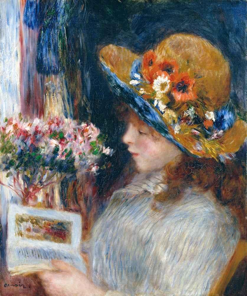 Reading Girl - Auguste Renoir