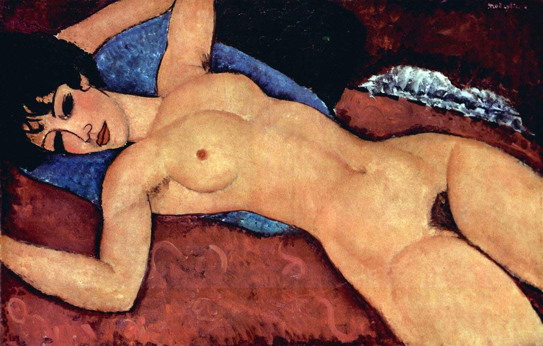 Reclining Nude - Modigliani