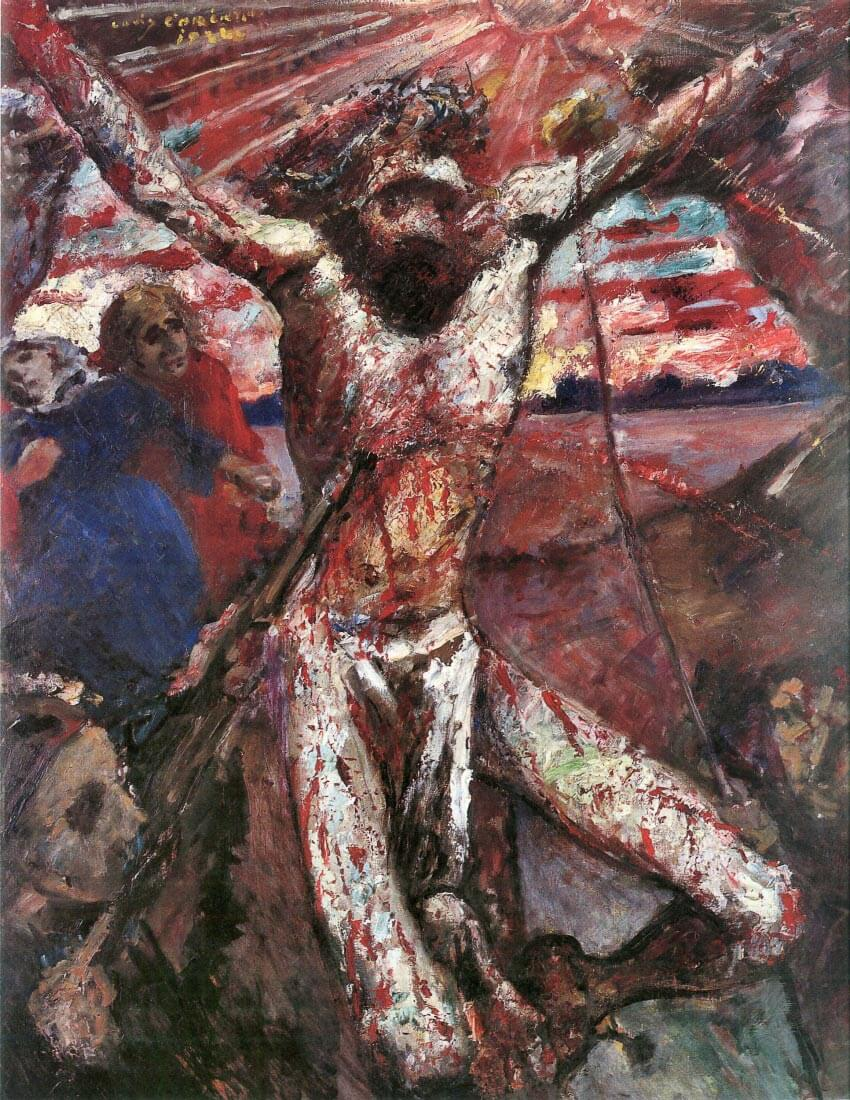 Red Christ - Lovis Corinth