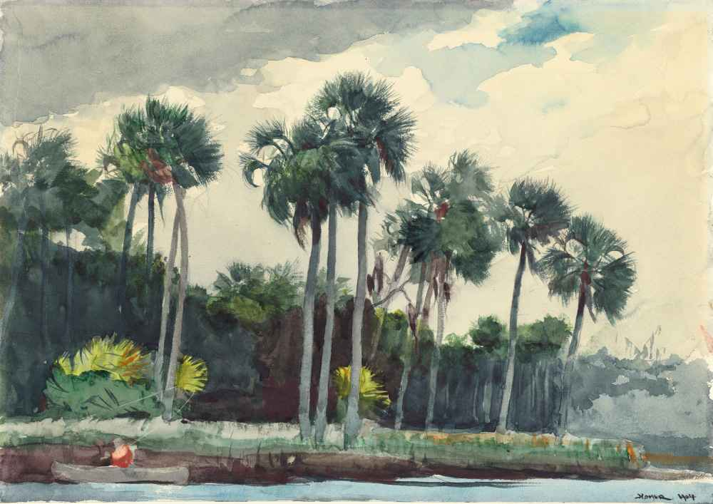 Red Shirt, Homosassa, Florida - Winslow Homer
