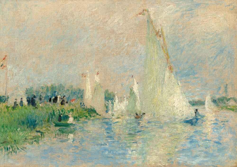Regatta at Argenteuil - Auguste Renoir