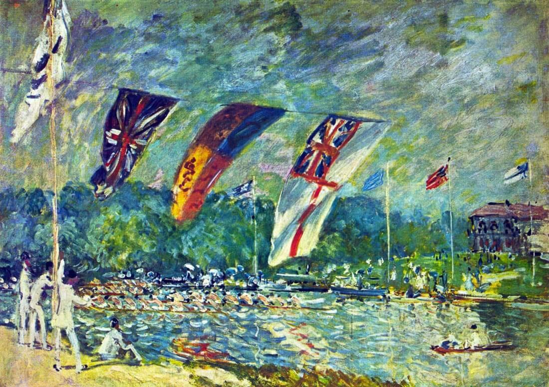 Regatta in Molesly - Sisley