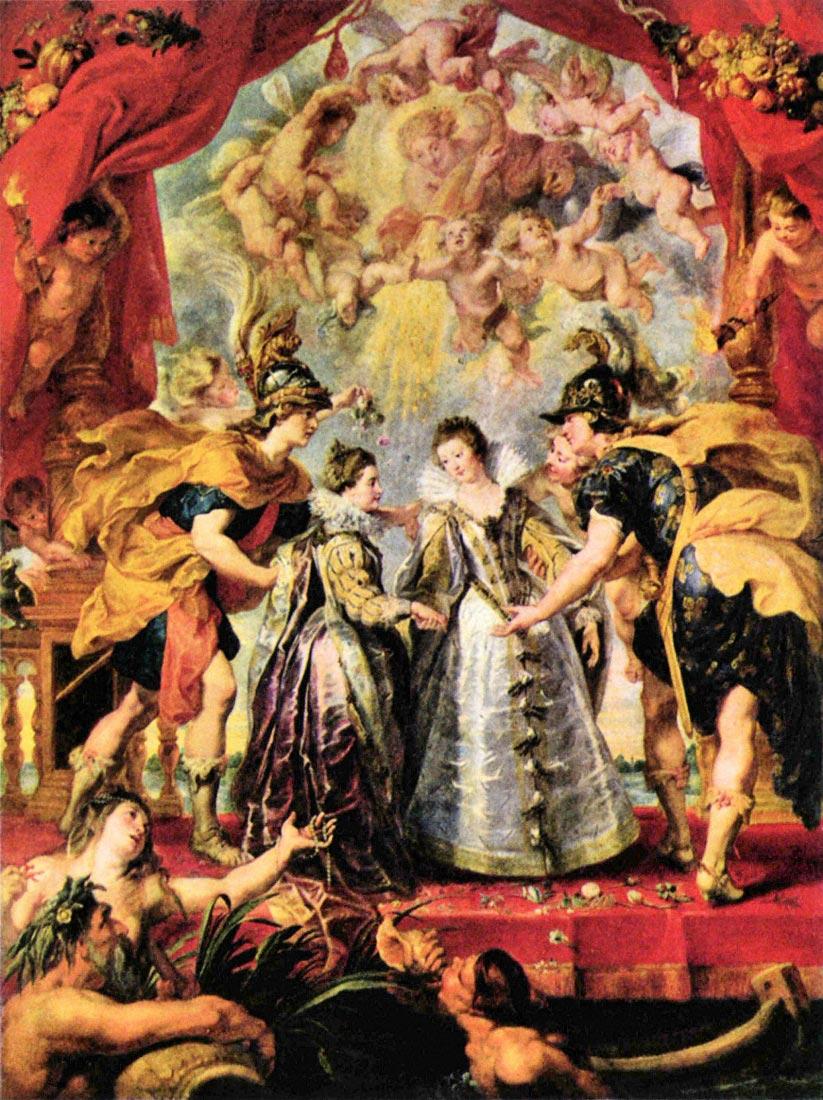 Replacing the Medici Princess - Rubens
