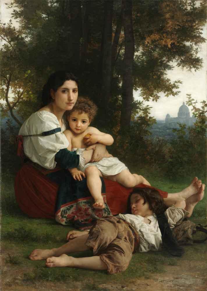 Rest 2 - William-Adolphe Bouguereau