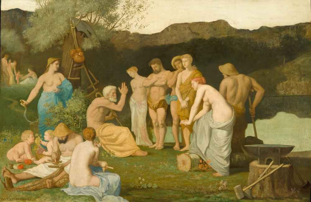 Rest - Pierre Puvis de Chavannes