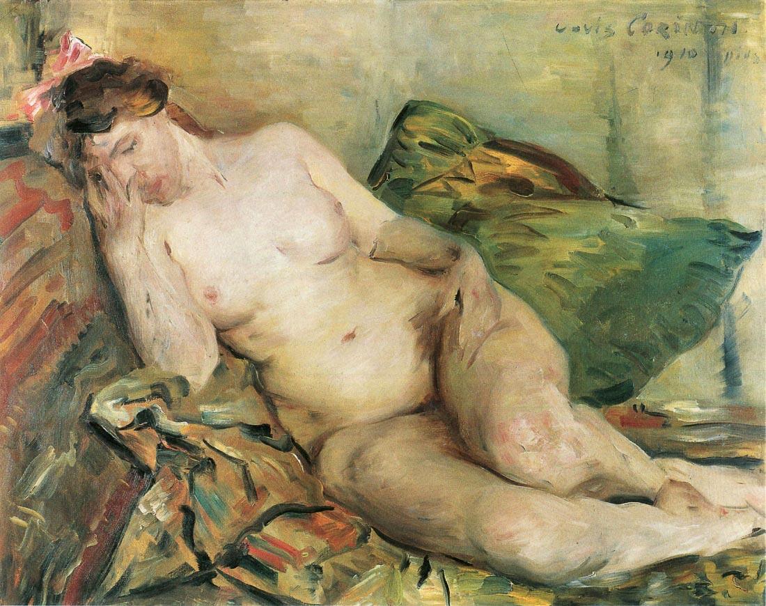 Resting - Lovis Corinth