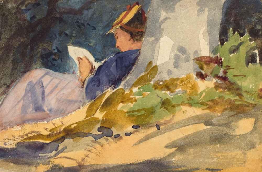 Resting - John Singer Sargent
