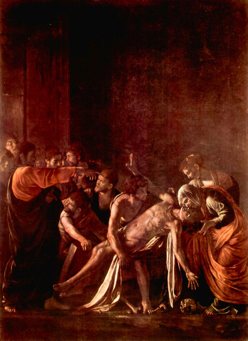 Resurrection of Lazarus - Caravaggio