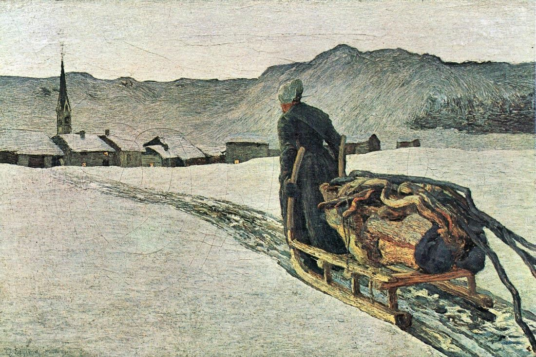 Return from the forest - Giovanni Segantini