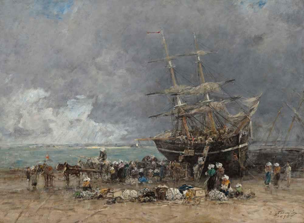 Return of the Terre-Neuvier - Eugene Boudin