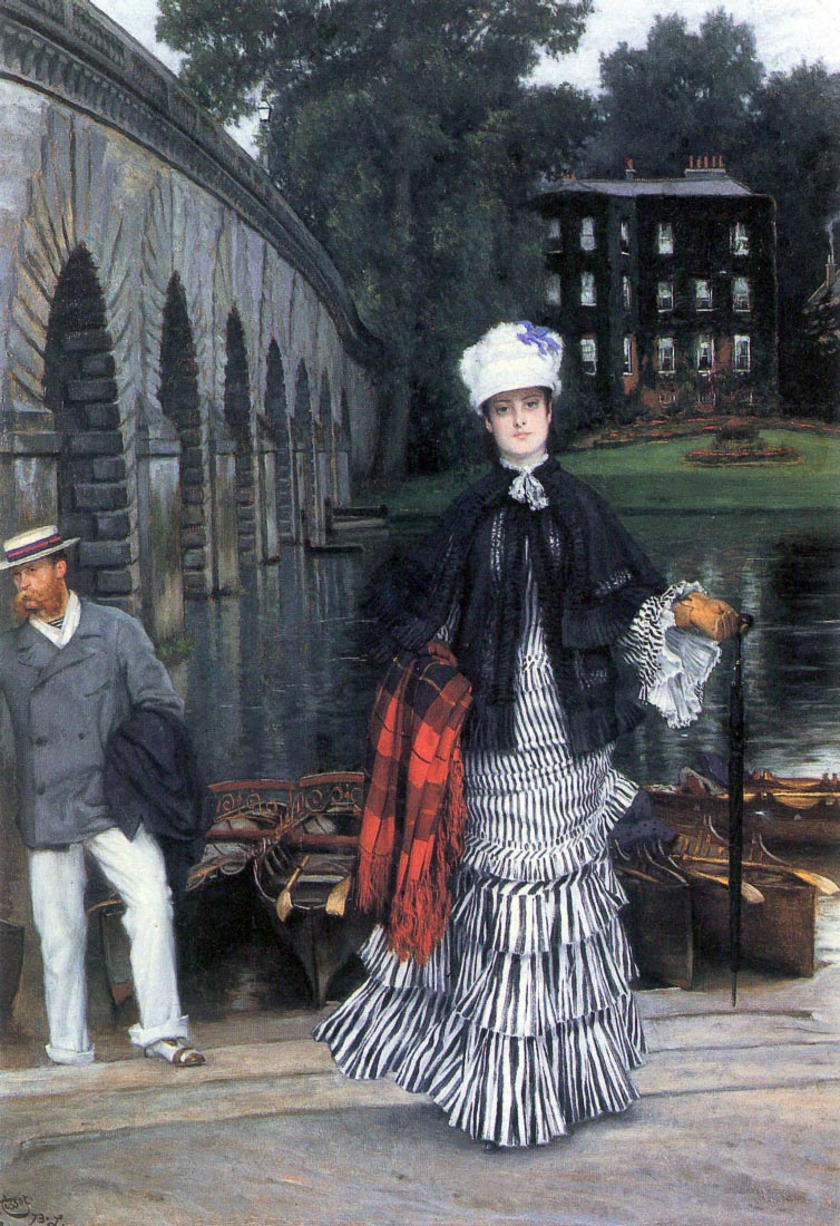 Return of the boat trip - Tissot