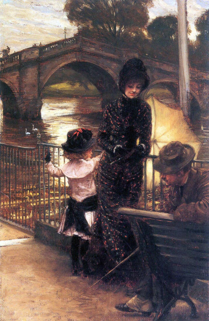 Richmond on the Thames - Tissot