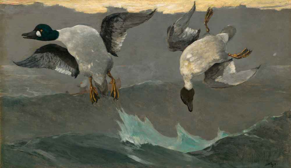 Right and Left - Winslow Homer
