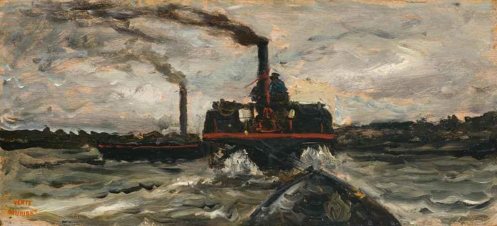 River Boat - Charles-Francois Daubigny