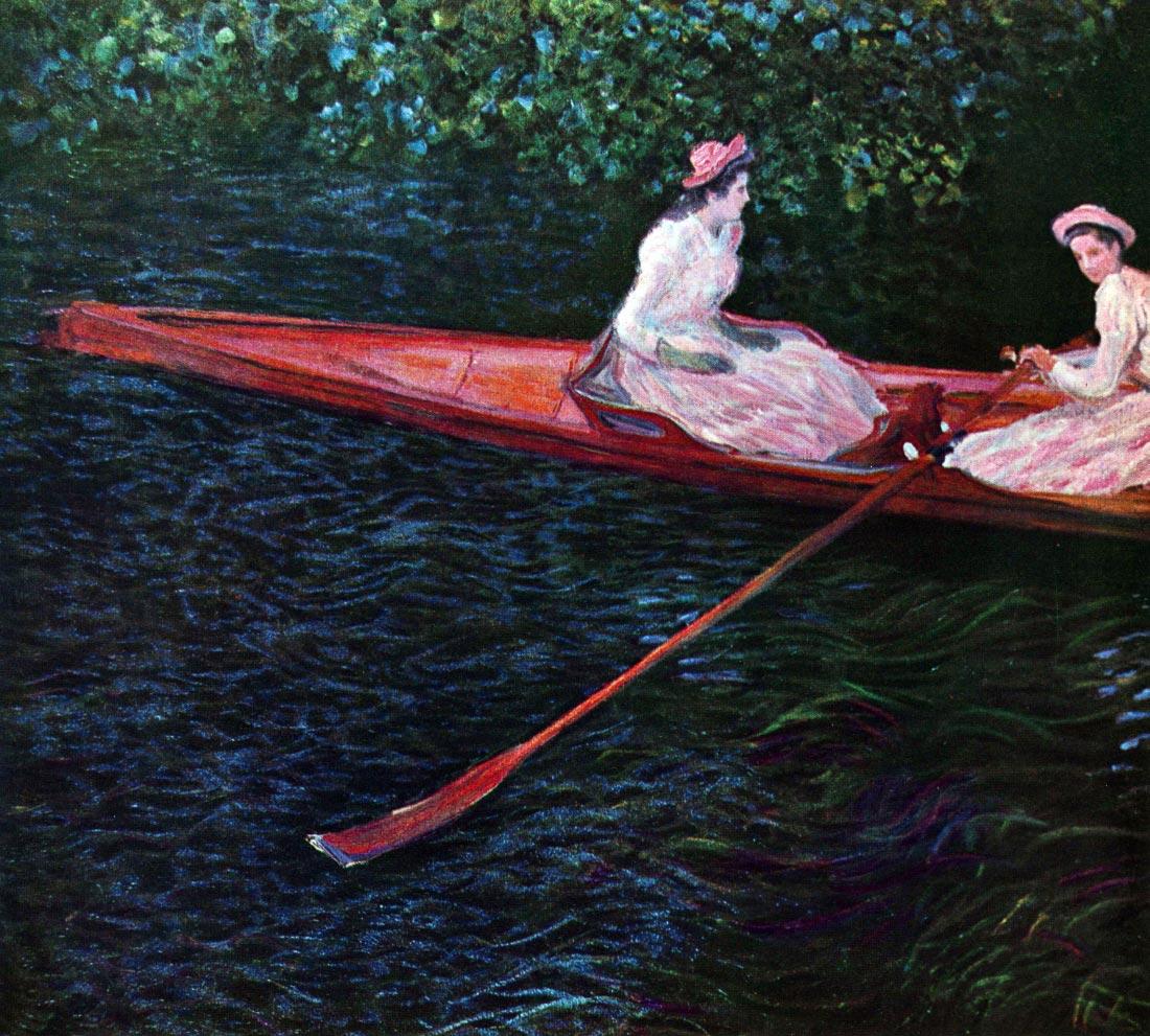 River Epte 2 - Monet