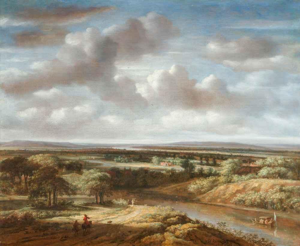 River Landscape - Philips Koninck
