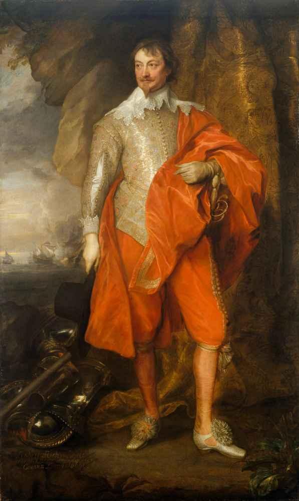 Robert Rich (1587–1658), Second Earl of Warwick - Antoon van Dyck