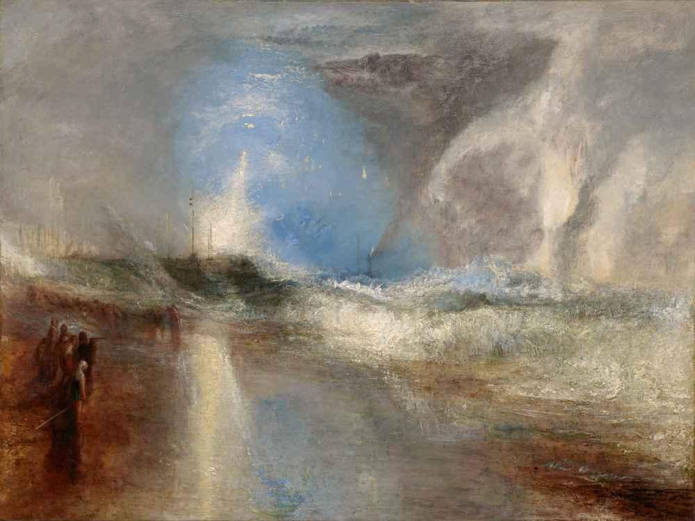 Rockets and Blue Lights (Close at Hand) to Warn Steamboats of Shoal Wa