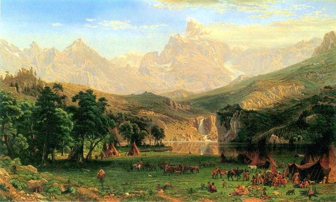 Rocky Montains at Landers Peak - Bierstadt