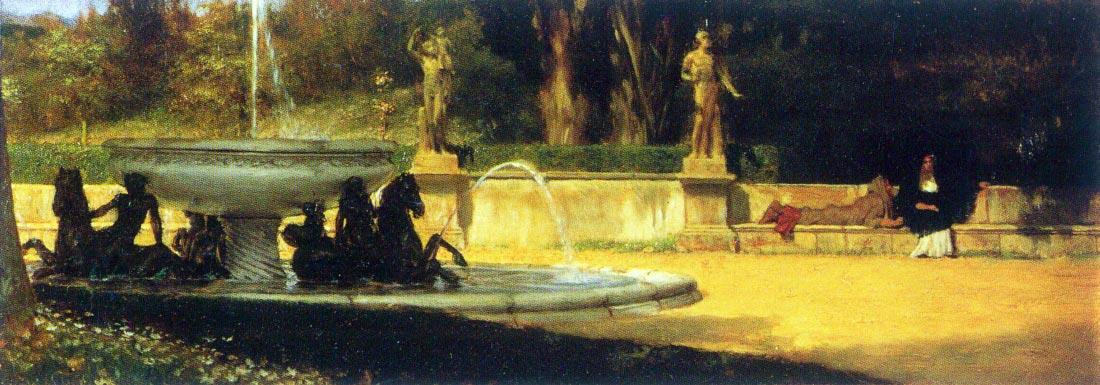 Roman Garden - Alma-Tadema