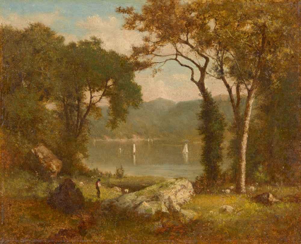 Romantic Landscape - George Inness
