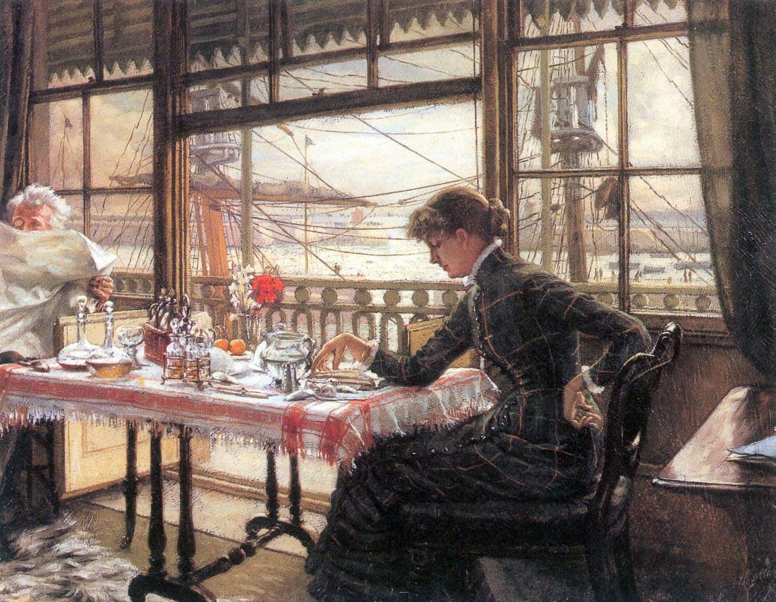 Room with a glance from the port - Tissot