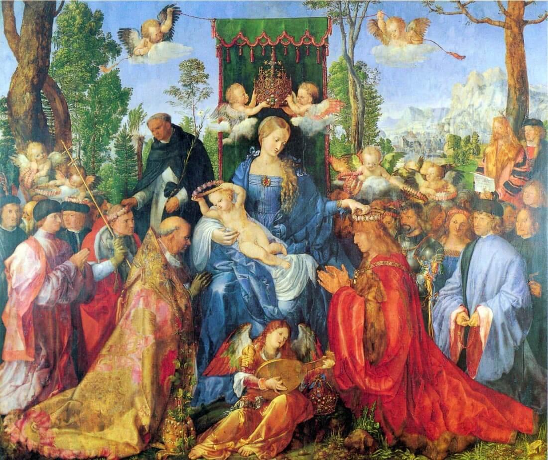 Rosary Altar - Durer