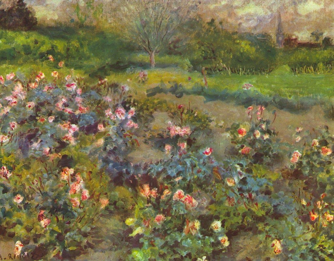 Rose Garden - Renoir