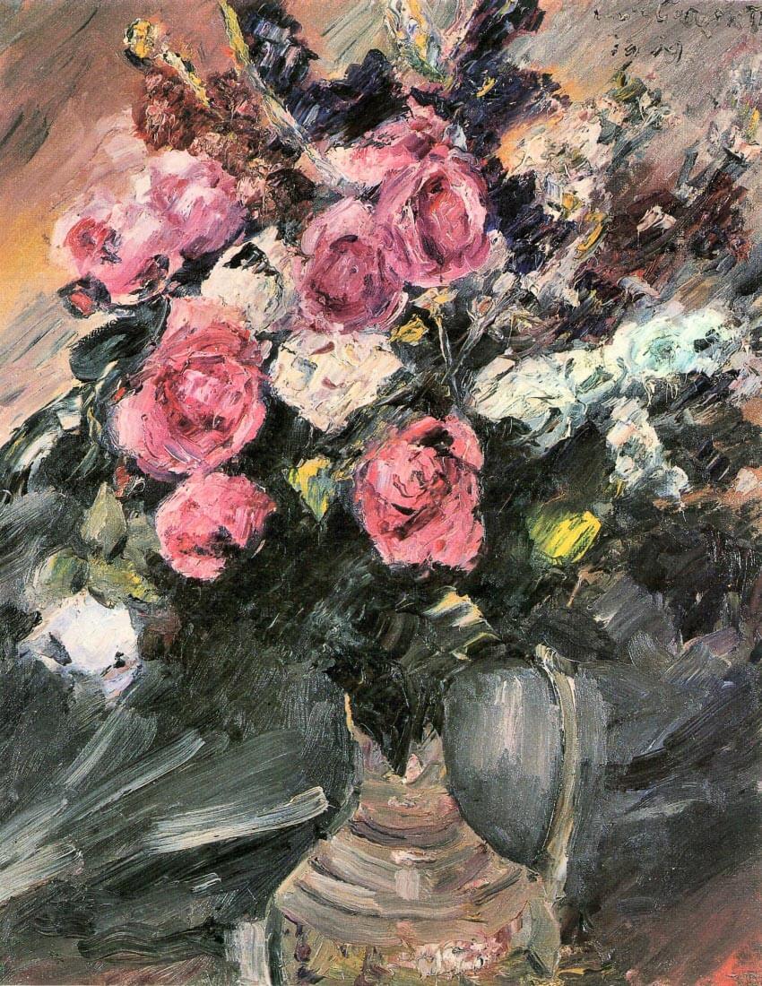 Roses 1 - Lovis Corinth