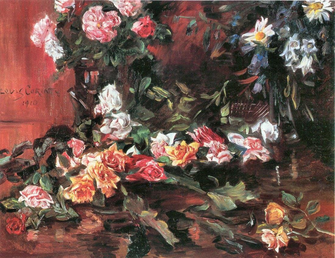 Roses 2 - Lovis Corinth