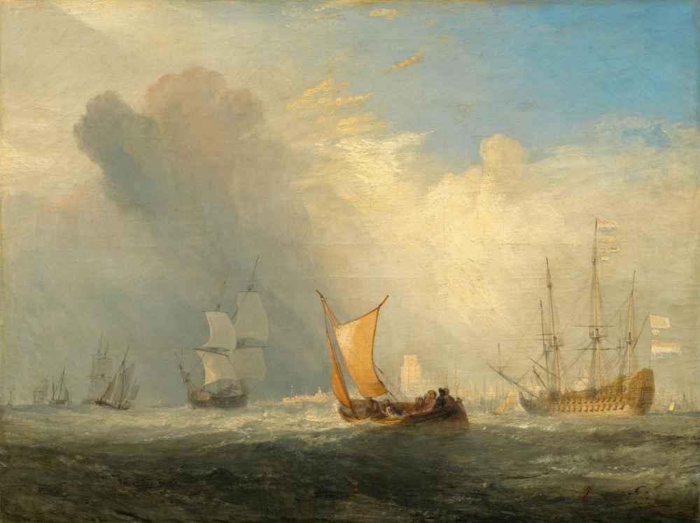 Rotterdam Ferry-Boat - Joseph Mallord William Turner